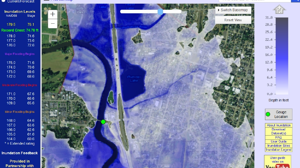 New NOAA project maps out how a flood would look before the rains fall